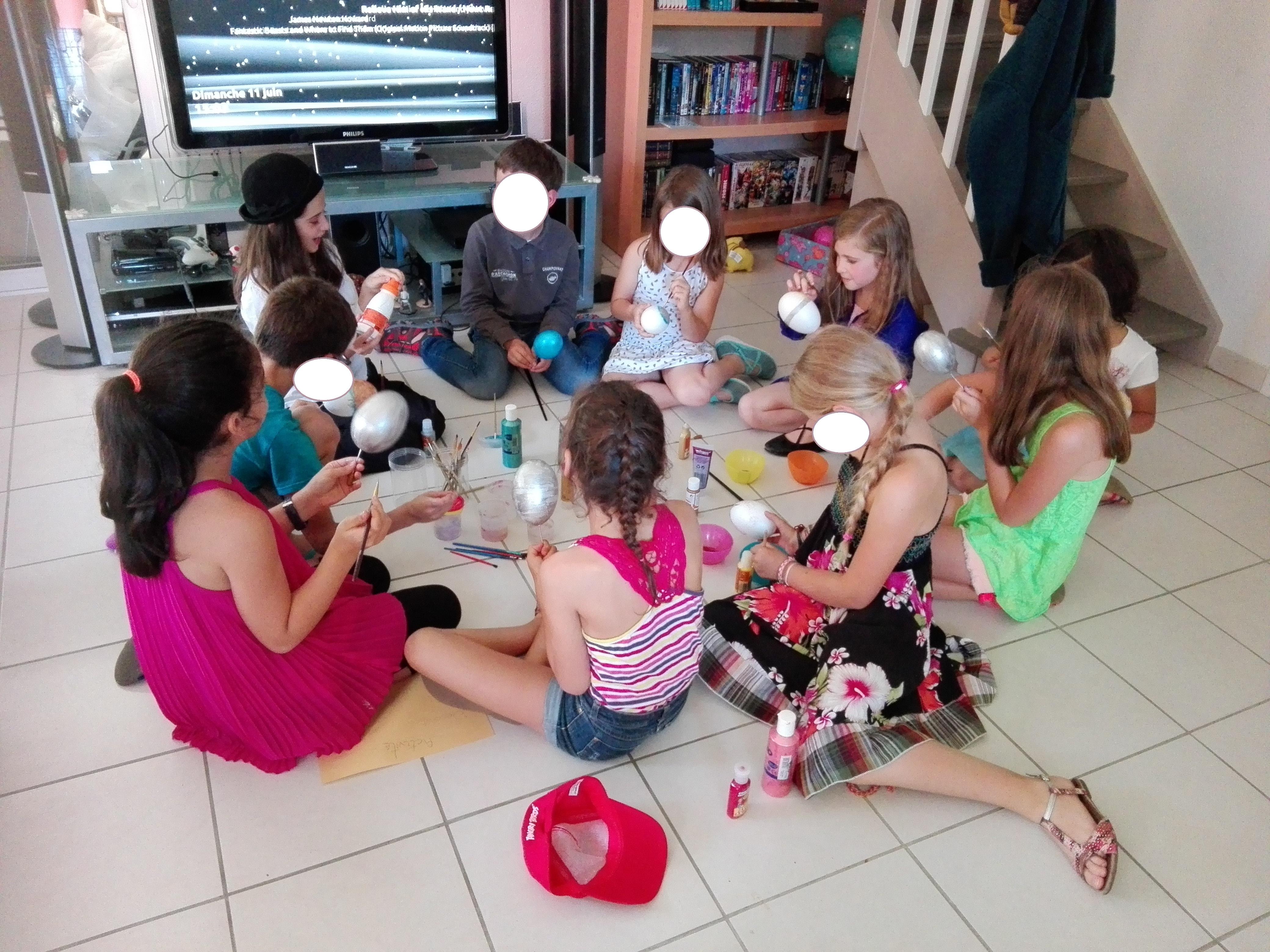 L anniversaire Les Animaux Fantastiques de Leane 8 ans 3 4 la fªte avec les copains